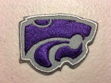 """Kansas State University Wildcats Big 12 Iron On Patch 1.25"""" X 2""""."""