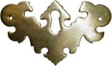CHIPPENDALE STYLE KEY HOLE COVER B0157