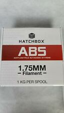 Hatchbox ABS 1.75mm 3D Printer Filament 1 Kg Spool True Red