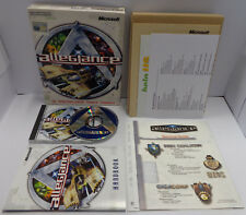 PC Computer Game Gioco Big Box CD-ROM Inglese ENG Microsoft Play - ALLEGIANCE -