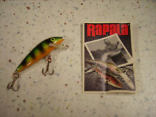 RAPALA ORIGINAL 5 P_ESCHE ARTIFICIALI- FLOATING 5cm/3g PERCH PERSICO
