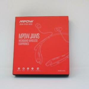 Mpow Jaws 5.0 Bluetooth Headphones Featuring Neckband Design