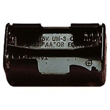 BATTERY HOLDER FOR 4 x AA R6, HR6, R6P  1.5V BATTERIES PP3 OUTPUT CONNECTOR