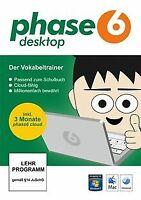 Phase-6 Desktop von Langenscheidt KG | Software | Zustand gut