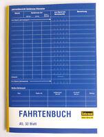 Fahrtenbuch A5 32 Blatt Idena