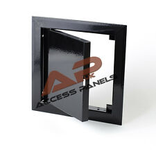 Access Panel 150x150mm (6x6inch) Metal Inspection Panel Inspection Hatch Black