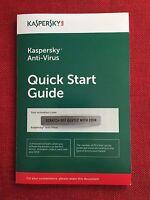 Kaspersky Antivirus Anti-Virus 2018 5 PC (not 3 PC) 1 Year, FREE Fast Ship