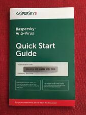 Kaspersky Antivirus Anti-Virus 2018 3PC, FREE Ship (Exp. Date: 10/16/2018)