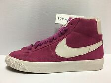 Nike Blazer Mid Suede Vintage Pink 518171 604 Women's Size 6 No Box Lid