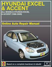 hyundai haynes car truck repair manuals literature ebay rh ebay com hyundai accent 2000 repair manual pdf Hyundai Auto Repair Manual