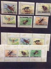 Insects on postage stamps - MNH** D106