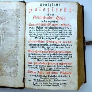 Königliche Halszierde einer Gottliebenden Seele, Steyr 1782  + Stiche + Kreuzweg