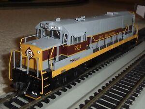 Bowser Trains HO Executive Line GE U-25B Erie Lackawanna #2516 with Kadees