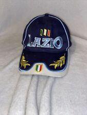 Navy Blue Lazio Cap European Italian Official Soccer Futbol Baseball Cap Hat
