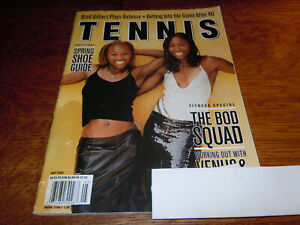 "VINTAGE MAY 2002 "" TENNIS "" MAGAZINE - VENUS & SERENA WILLIAMS COVER"