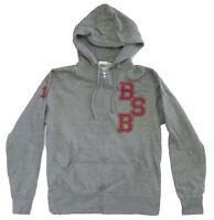 Backstreet Boys Varsity BSB Logos Grey Zip Hoodie Sweatshirt New Official Sale