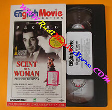 VHS film SCENT OF A WOMAN Profumo di donna Al Pacino 1994 inglese (F139) no dvd