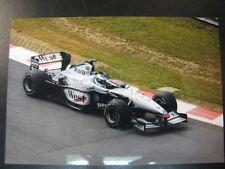 Photo West McLaren Mercedes MP4/16 2001 #3 Mika Hakkinen (FIN) GP Belgium