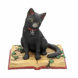 Nemesis Now - Eclipse - 12cm Wiccan, Cat, Pentagram, Cute Figurine