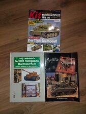 Panzer Modellbau Hefte/Bücher 1:35 / 1:48 / 1:72