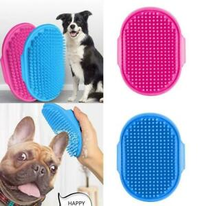 1 X Pet Brush Adjustable Shower Rubber Grooming Bathing Hair Tool Cleaning O9O8