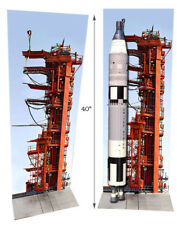 Estes Rocket Gemini Assembly Gantry Tower poster for model display