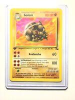 GOLEM - 36/62 - 1st Edition Fossil - Uncommon - Pokemon Card -  NM