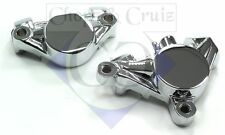 Bremszange / Bremssattel hinten - verchromt - Yamaha XVS 1100 Drag Star + Class