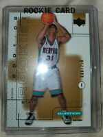 2001-02 Upper Deck Ovation /250 Shane Battier (Stats) #116.2 Rookie