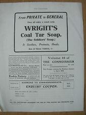 Vintage Impresión-Wright 's de alquitrán de hulla Jabón anuncio de mayo de 1916