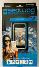 SEAWAG IPX8 Blue Waterproof Underwater Phone Case W/ Neck Strap,Fits All Phones