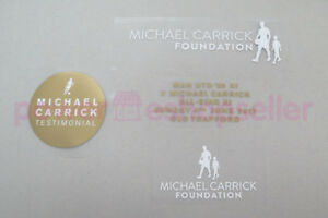 Michael Carrich Testimonial 2017 Player Issue Patch / Badge