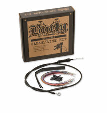 """Burly Brand 13"""" Ape Hanger Cable/Brake Kit Harley-Davidson FLHX, FLHT/C/U 14-15"""