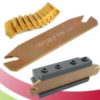 SPB26-3 26mm Width Grooving Blade + 10pcs GTN-3 SP300 Cut-Off Grooving Inserts