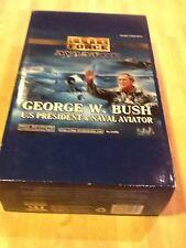 BLUE BOX GEORGE W.BUSH-U.S. PRESIDENT & NAVAL AVIATOR 1/6