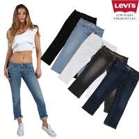 VINTAGE LEVI'S LOW WAIST STRAIGHT LEG JEANS DENIM LEVI VARIOUS 26 in. 44 in.