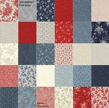 """SNOWBERRY PRINTS Charm Pack from MODA - (42) 5"""" factory-cut squares - 44140PP"""