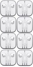 Lot of 8 Earbuds Earphone Headset With Mic Apple iPhone 5 iPhone 6/6s iPod