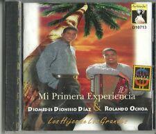 Diomedes Dionisio Diaz Rolando Ochoa Mi Primera Experiencia  Latin Music CD New