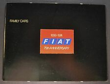 1974 Fiat Brochure 124 Special TC, Wagon 128 Excellent Original 74