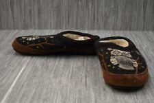 **Acorn Forest Mule Slippers, Women's Size 8-9, Brown