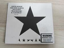 CD /   David Bowie – ★ (Blackstar)  / AUSTRALIA PRESS / RAR /