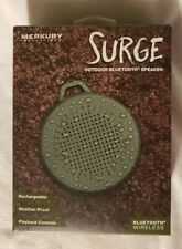Merkury Innovations SURGE Outdoor Bluetooth Speaker New-In-Box.