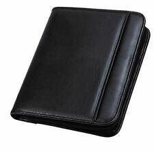 Professional Padfolio Business Portfolio With Secure Zippered Closure Pocket New