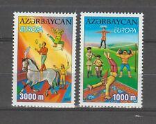 S36371 Azerbaijan 2002 Europa Cept MNH 2v
