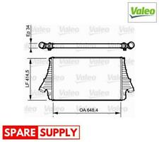INTERCOOLER, CHARGER FOR FIAT OPEL VALEO 818722