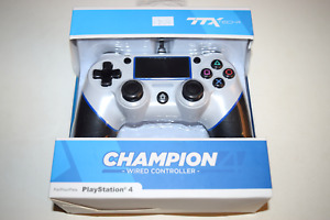 Champion Wired Controller White Playstation 4 PS4 Console Game System New in Box
