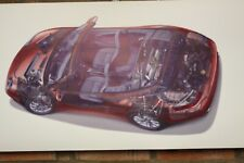 porsche carrera s4    pvc large WORK SHOP BANNER garage car show banner