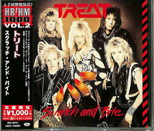 TREAT-SCRATCH AND BITE-JAPAN CD Ltd/Ed B63