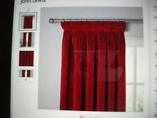 John Lewis Cotton Curtains & Pelmets